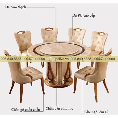 Bàn ghế nhà hàng cao cấp