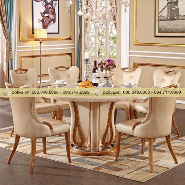 Bàn ghế dùng trong nhà hàng, khách sạn tạo nên không gian sang trọng