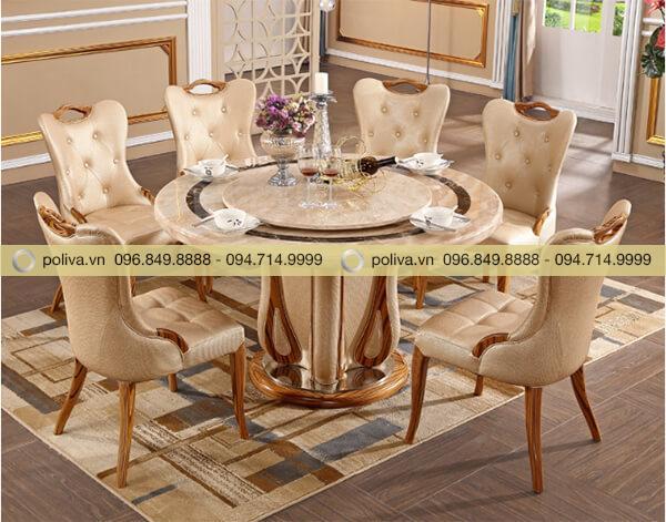 Poliva chuyên bán bàn ghế nhà hàng với giá thành phải chăng, chất lượng đảm bảo