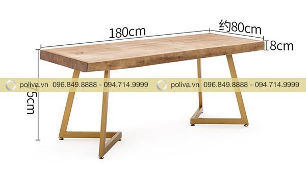 Kích thước bàn nhà hàng