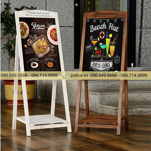 Bảng quảng cáo gỗ