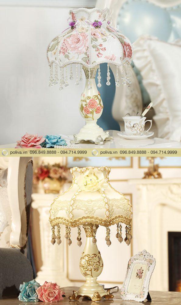 Những mẫu đèn ngủ hoa văn tạo vẻ lãng mạn