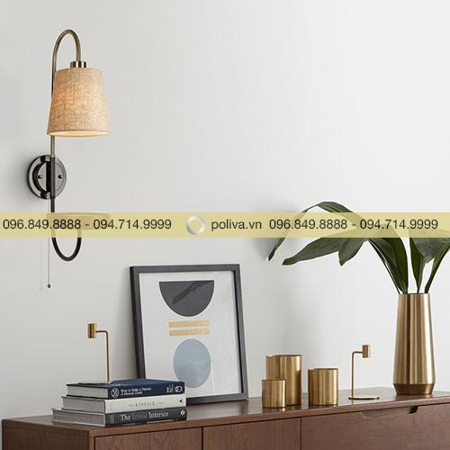 Đèn ngủ gắn tường đơn giản