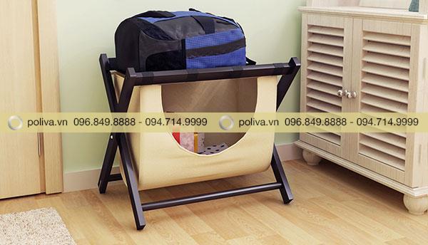 Kệ để vali khách sạn giúp khách lưu trú bảo quản được đồ cá nhân tiện lợi