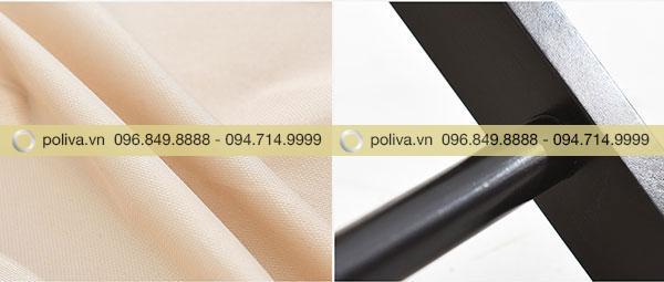 Chất liệu gỗ thông sơn bóng tạo bền màu với thời gian