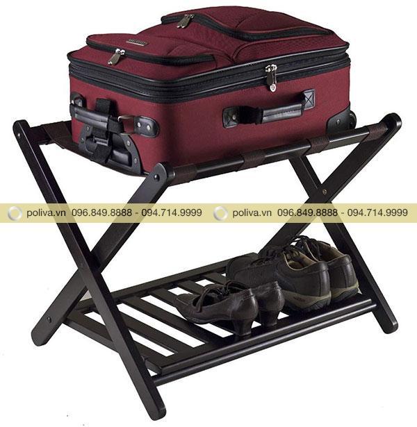 Giá đỡ vali khách sạn được sử dụng rộng rãi