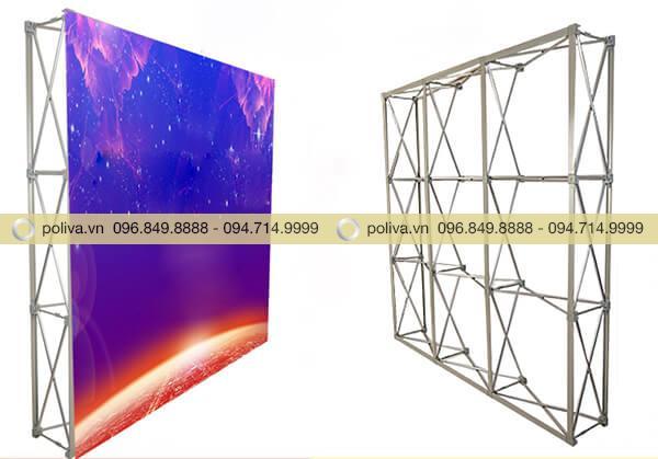 Khung backdrop di động với chất liệu bền bỉ