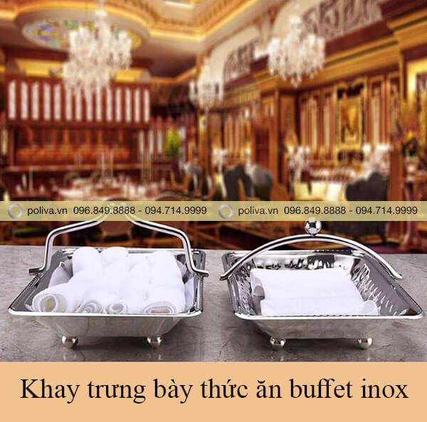 Khay trưng bày thức ăn buffet