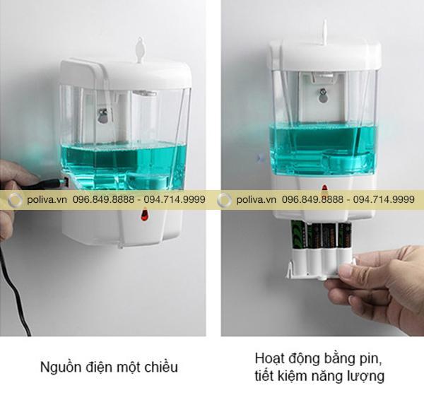 Cấu tạo hoạt động của hộp đựng nước rửa tay