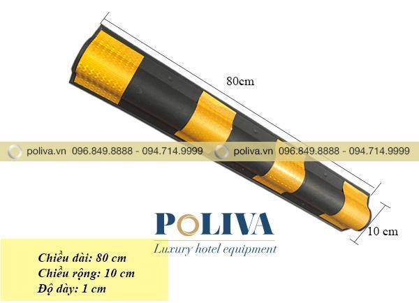 Kích thước ốp góc tròn phản quang bằng cao su chất lượng cao