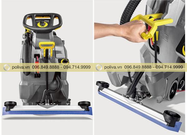 Tay cầm điều chỉnh máy làm bằng chất liệu tốt tạo đồ bền khi sử dụng