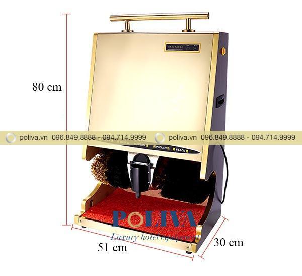 Kích thước máy đánh giày cảm ứng