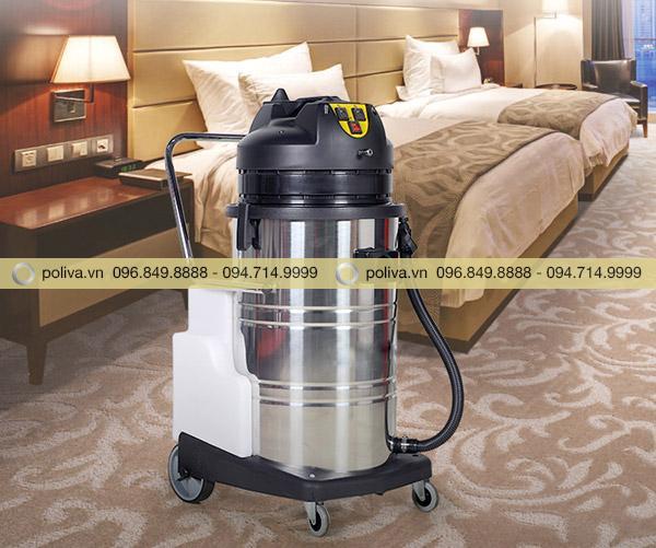 Máy giặt thảm phun hút giúp làm sạch thảm nhanh và hiệu quả