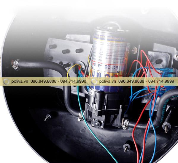 Động cơ đồng nguyên chất giúp tiết kiệm điện và tăng tuổi thọ của máy