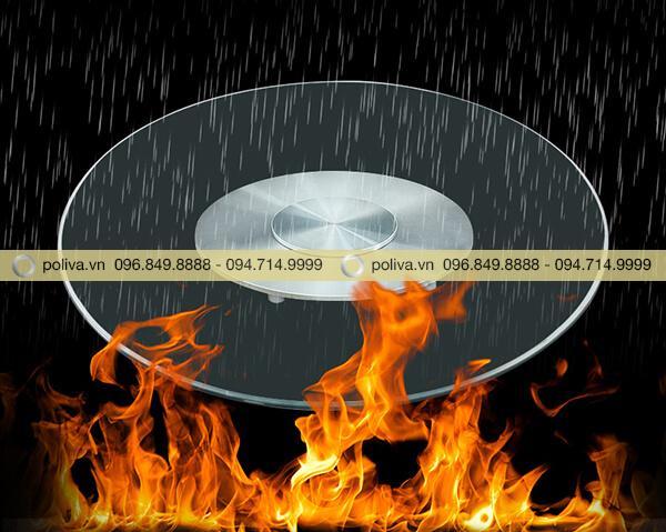 Chống lại tác động của nước và lửa, bền bỉ trong mọi điều kiện nhiệt độ