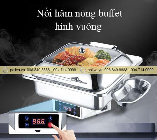 Nồi hâm nóng thức ăn buffet