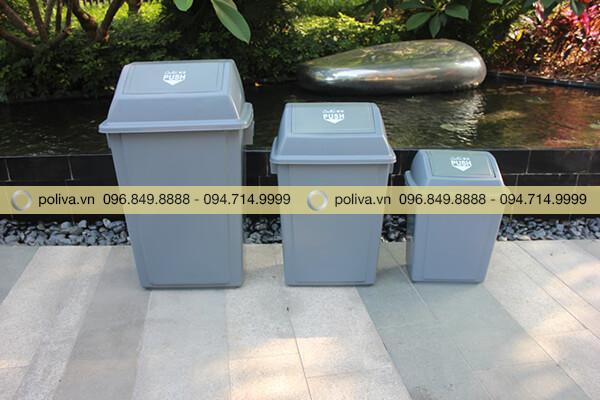 Thùng đựng rác công nghiệp có nhiều kích thước và dung tích khác nhau