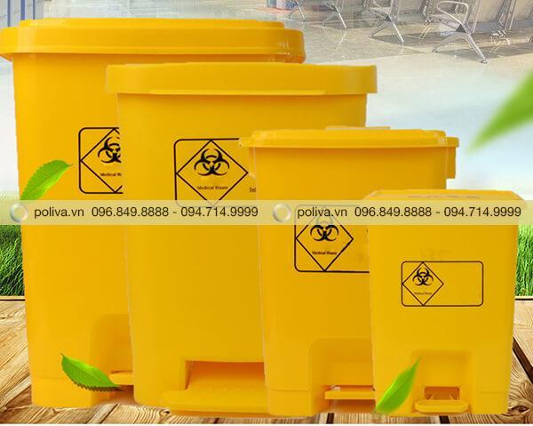 Poliva chuyên cung cấp các loại thùng rác y tế chất lượng đảm bảo