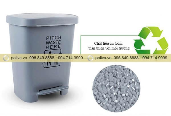 Chất liệu thân thiện với môi trường, có khả năng tái chế