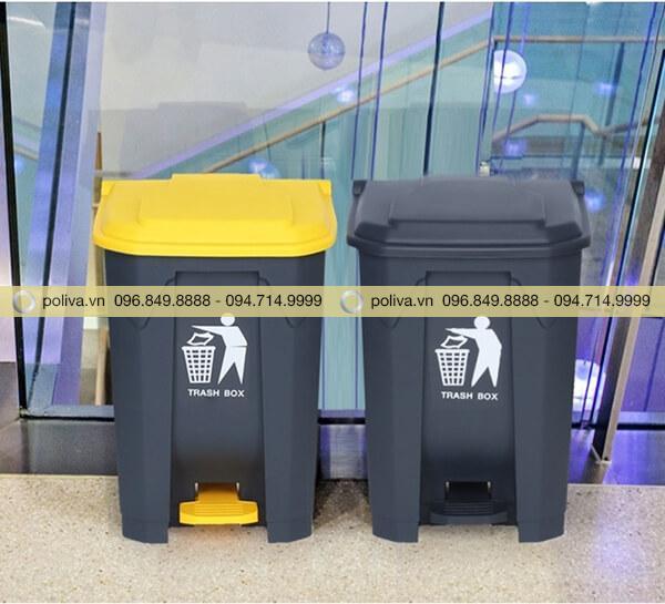 Poliva chuyên cung cấp mẫu thùng rác y tế chất lượng cao, giá thành phải chăng