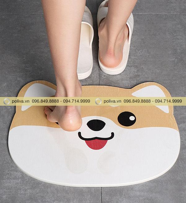 Thảm nâng niu đôi bàn chân của bạn và những người thân yêu
