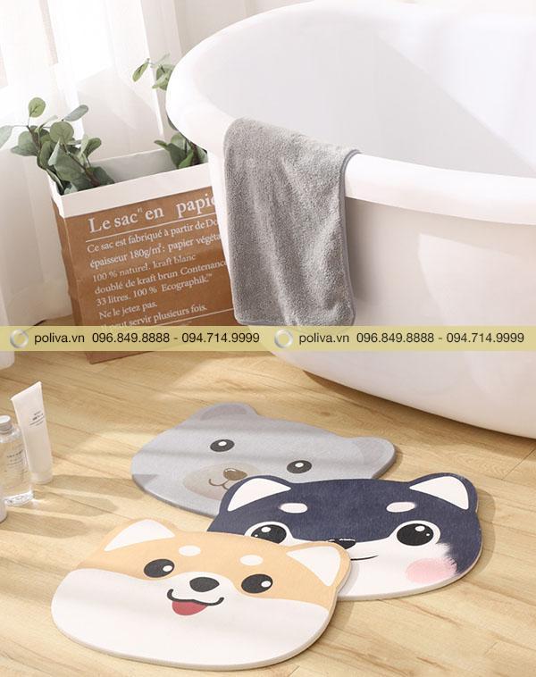 Hình ảnh thảm lau chân phòng tắm khách sạn