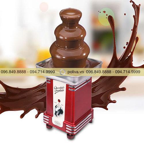 Tháp phun chocolate 3 tầng