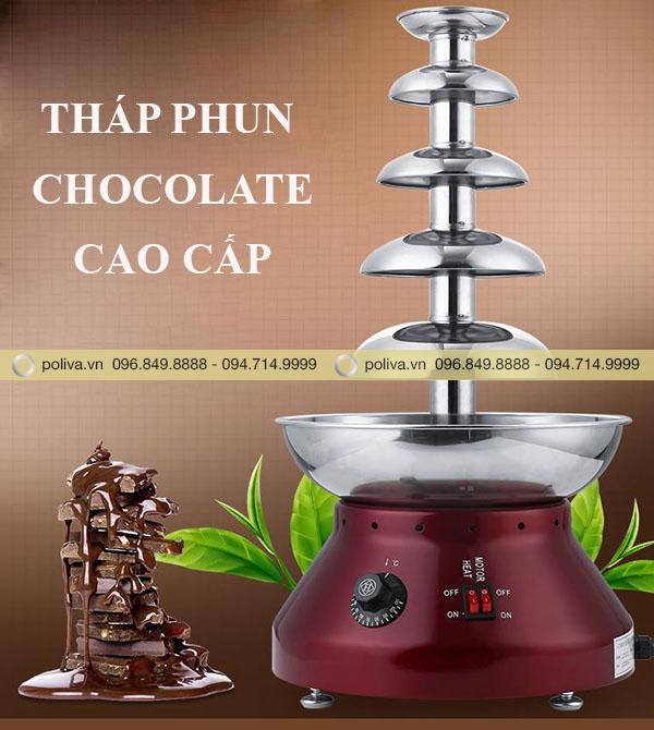 Tháp phun socola
