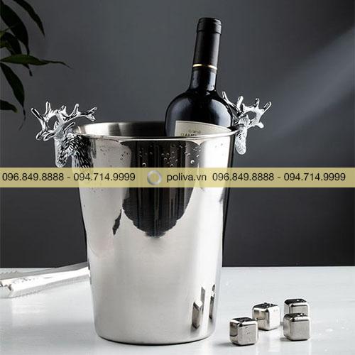 Xô đá ngâm rượu cao cấp