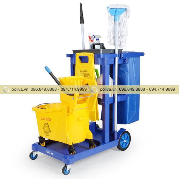 Poliva chuyên cung cấp các loại xe dọn vệ sinh phòng khách sạn uy tín