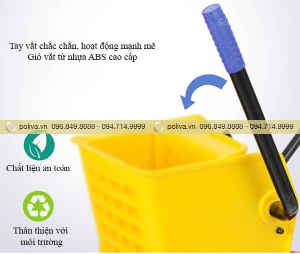 Chất liệu an toàn và thân thiện với môi trường