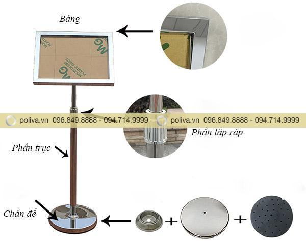 Hình ảnh chi tiết từng bộ phận của sản phẩm