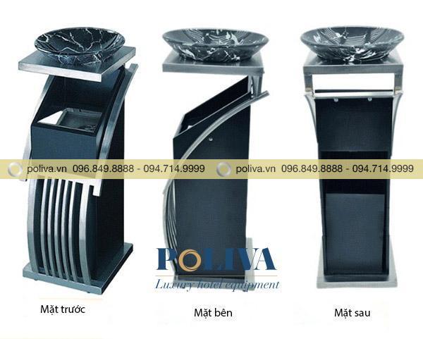 Hình ảnh thùng rác cao cấp ở nhiều góc độ khác nhau