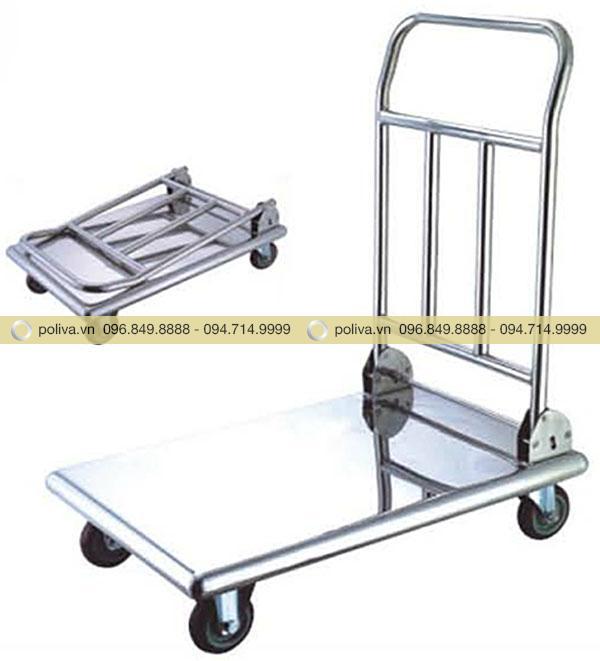 Xe đẩy hành lý giúp sắp xếp và vận chuyển đồ đạc nhanh chóng