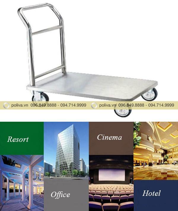 Poliva chuyên cung cấp xe đẩy hành lý dành cho khách sạn