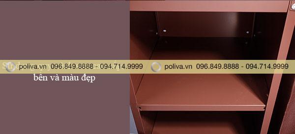 Các ngăn được sơn phủ đảm bảo an toàn và chất lượng