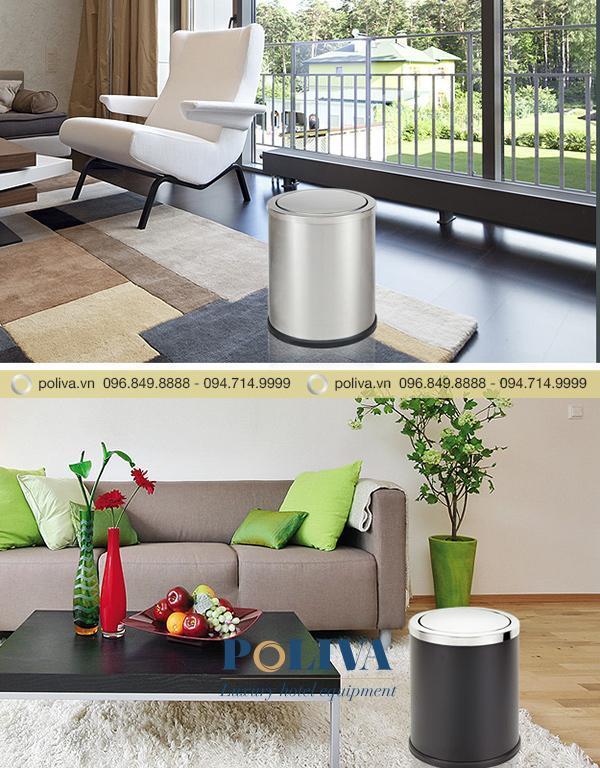 Thùng rác nhỏ gọn có thể sử dụng trong phòng khách, phòng ngủ...