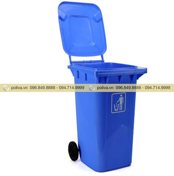 Nắp thùng rác đóng - mở dễ dàng