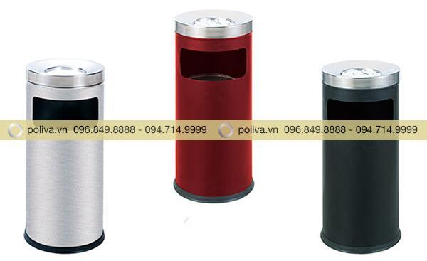 Poliva chuyên cung cấp các loại thùng rác gạt tàn