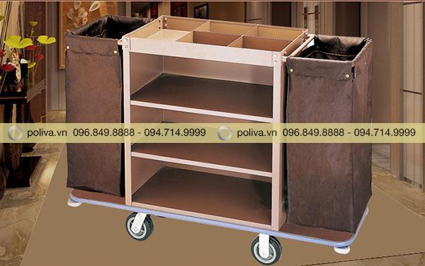 Poliva cung cấp xe làm buồng nhiều ngăn chất liệu bền bỉ, thiết kế tiện lợi