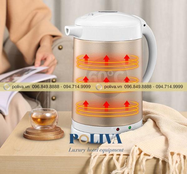 Thiết bị có thể giữ nhiệt lên tới 40 độ C