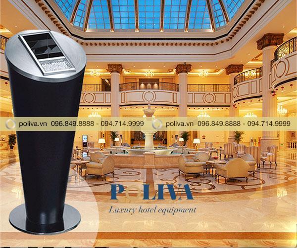 Hình ảnh thùng rác dành cho khách sạn do Poliva cung cấp