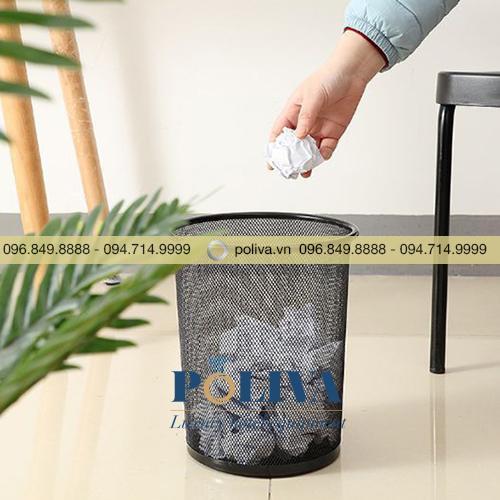 Thùng rác lưới văn phòng