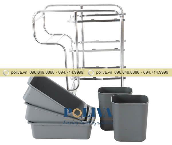 Khung xe và các ngăn, xô đựng có thể tháo rời