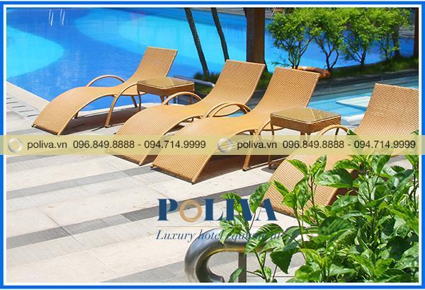 Trang bị giường hồ bơi tạo không gian cao cấp và sang trọng hơn