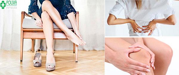"""""""Yêu"""" nhiều làm các bộ phận cơ, khớp như cánh tay, đầu gối, chân nhức mỏi"""