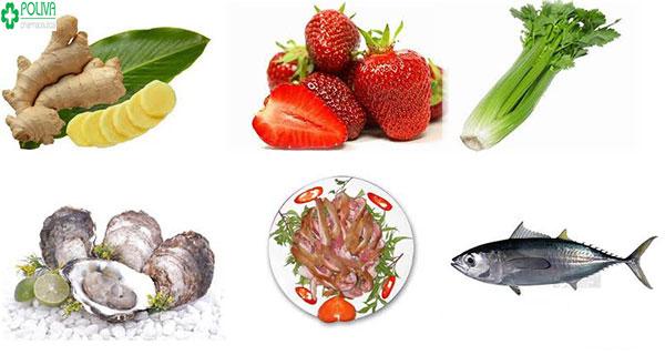 Một số thực phẩm tăng cường sinh lý nam