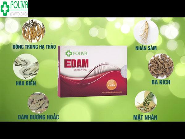 Poliva Edam an toàn và có công hiệu trong việc tăng cường sinh lý nam giới.