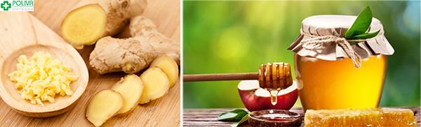 Sử dụng gừng tưới hay kết hợp với mật ong là một trong số những biện pháp đem lại hiệu quả cao