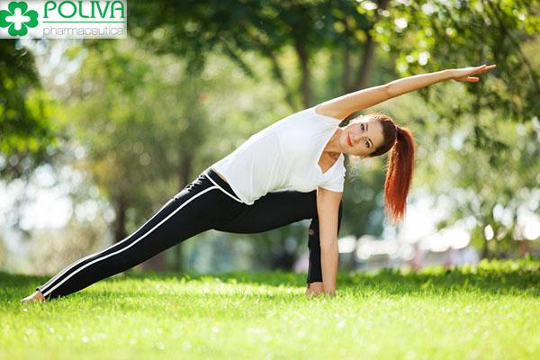 Tập thể dục thường xuyên giúp tăng cường sức khoẻ